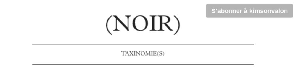 (NOIR)